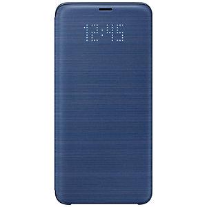 Samsung Galaxy S9 Plus LED View flipfodral (blå)