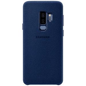 Samsung Galaxy S9 Plus Alcantara deksel (sort)