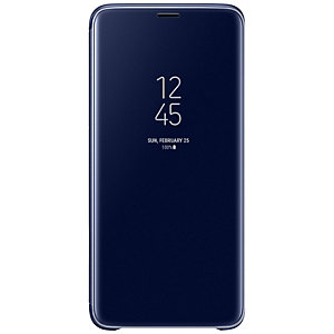 Samsung Galaxy S9 Plus Standing View deksel (blå)