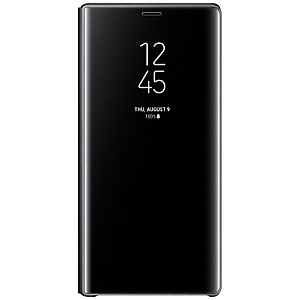 Samsung Galaxy Note 9 standing view deksel (sort)
