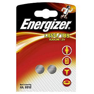 Energizer Button Cell Batteri LR54 2 stk.