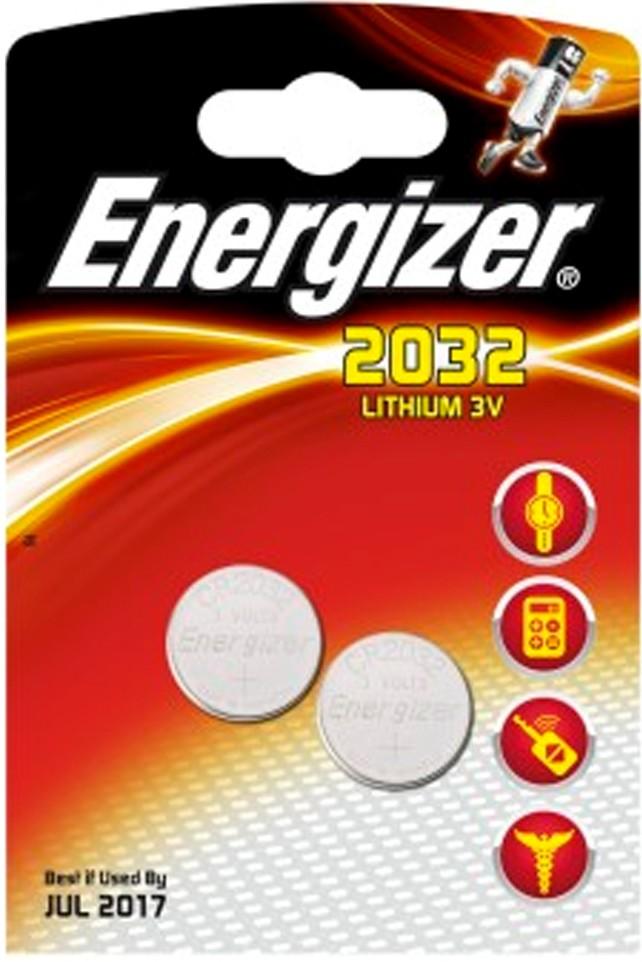 235209 : Energizer spesialbatteri CR2032 (2 stk)