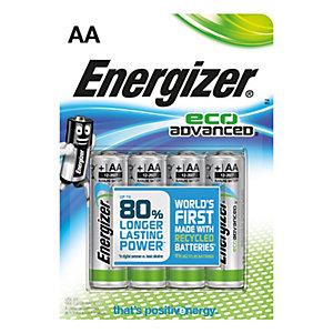 Energizer AA LR6 Eco batterier 4-pack