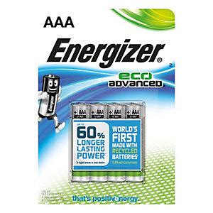 Energizer AAA LR6 Eco batterier 4-pack