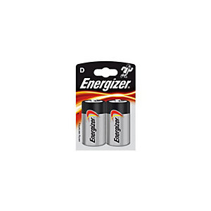 Energizer D LR20 batterier 2-pack