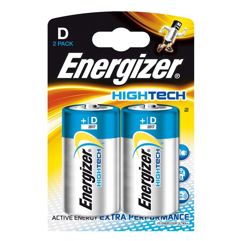 235214 : Energizer D/X95 batterier 2 stk
