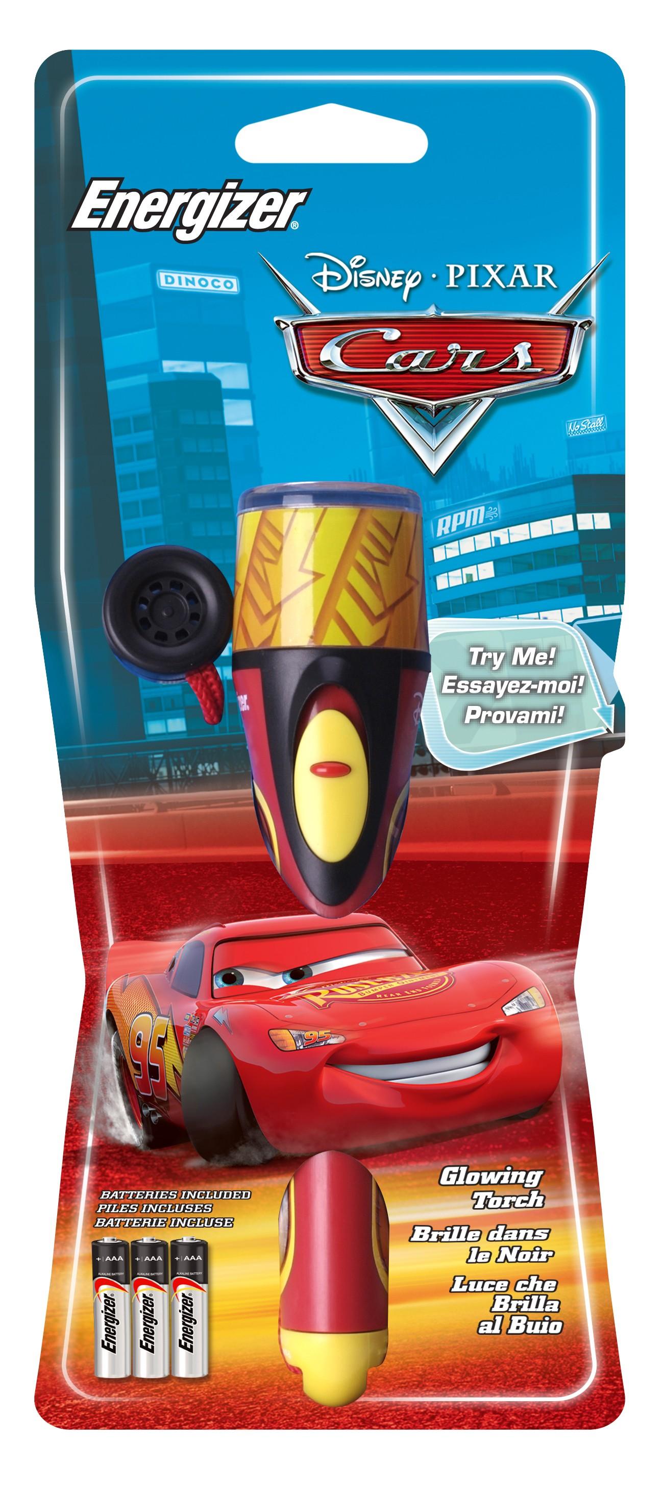 ENERTORCHCARS : Energizer LED-lommelykt Disney Cars