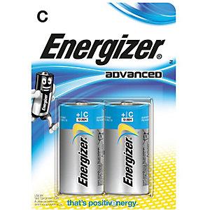 Energizer C/LR14 Eco Advanced Batterier (2 pakk)