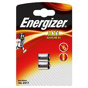Energizer A11/E11A Alkaline batterier (2 stk.)