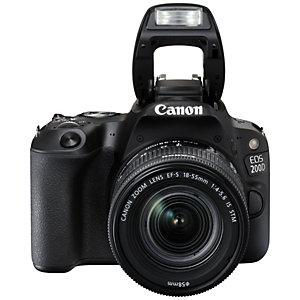 Canon EOS 200D digitalt speilref. + 18-55 mm IS STM obj