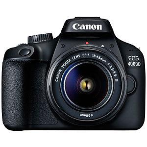 Canon EOS 4000D DSLR kamera + 18-55 DC III objektiivi