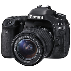 Canon EOS 80D DSLR + 18-55mm IS STM objektiv