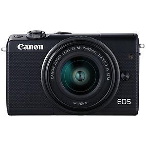 Canon EOS M100 digitaalikamera + 15-45 IS STM objektv.