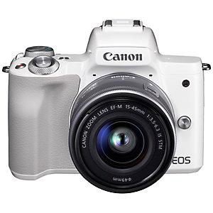 Canon EOS M50 digitaalikamera + 15-45 IS STM objektiivi