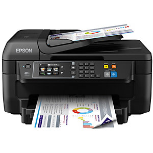 Epson WorkForce WF-2760DWF inkjet färg AIO skrivare