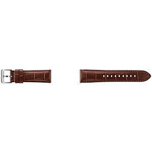 Samsung Gear S3 - Alligator Grain Leather Band (brun)