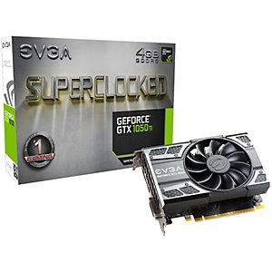 EVGA GeForce GTX 1050 Ti SC Gaming grafikkort 4G