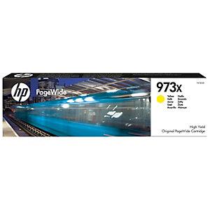 HP 973X Original PageWide mustekasetti (keltainen)