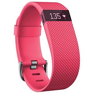 Fitbit Charge HR Aktivitetsarmband - large (rosa)