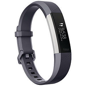FitBit Alta HR aktivitetsarmband L (grå)