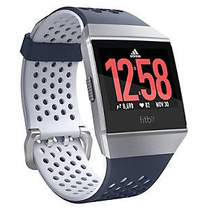 Fitbit Ionic: Adidas Ed. älykello (sininen/hopea)