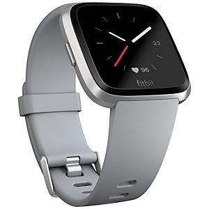 Fitbit Versa smartklokke (grå/sølv aluminium)