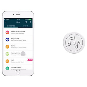 Flic Music smartknapp