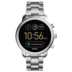 Fossil Q Explorist smartwatch (rostfritt stål)