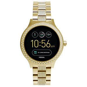 Fossil Q Venture smartwatch (guld)