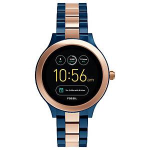 Fossil Q Venture smartwatch (navy/roseguld)