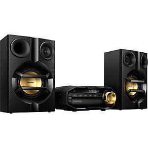 Philips mini Hi-Fi system FX10/12 (svart)