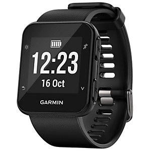 Garmin Forerunner 35 GPS träningsklocka (svart)