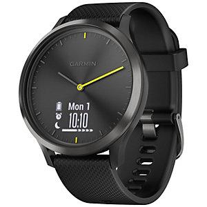 Garmin Vivomove HR Sport hybrid smartwatch L (svart)