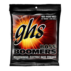 GHS M3045 bass Boomers medium sähköbassokitaran kielet