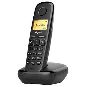 Gigaset A170 langaton puhelin (musta, 2 luuria)
