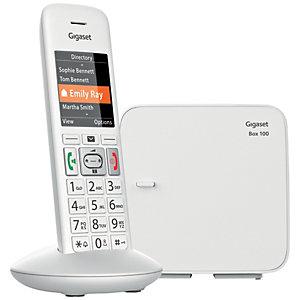 Gigaset Dect E370 Trådlös telefon (vit)