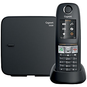 Gigaset Dect E630 langaton puhelin (musta)
