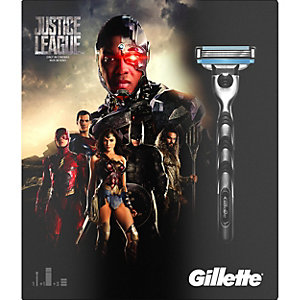Gillette Mach3 Justice League Special Edition gavepakke