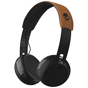 Skullcandy Grind trådløse on-ear hodetelefoner (sort)