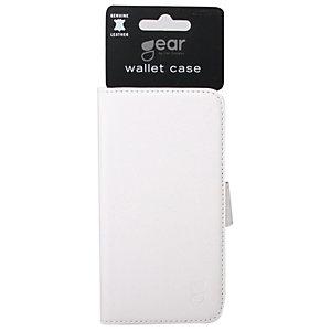 Gear Plånboksväska Galaxy S7 (vit)