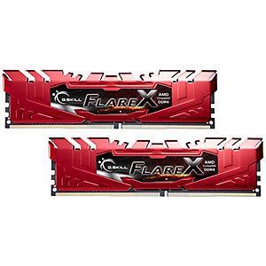 G.SKill Flare X DDR4 RAM 16 GB (röd)
