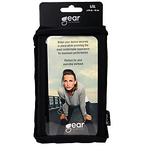 Gear Sportarmband till iPhone 6 (L/XL - svart)