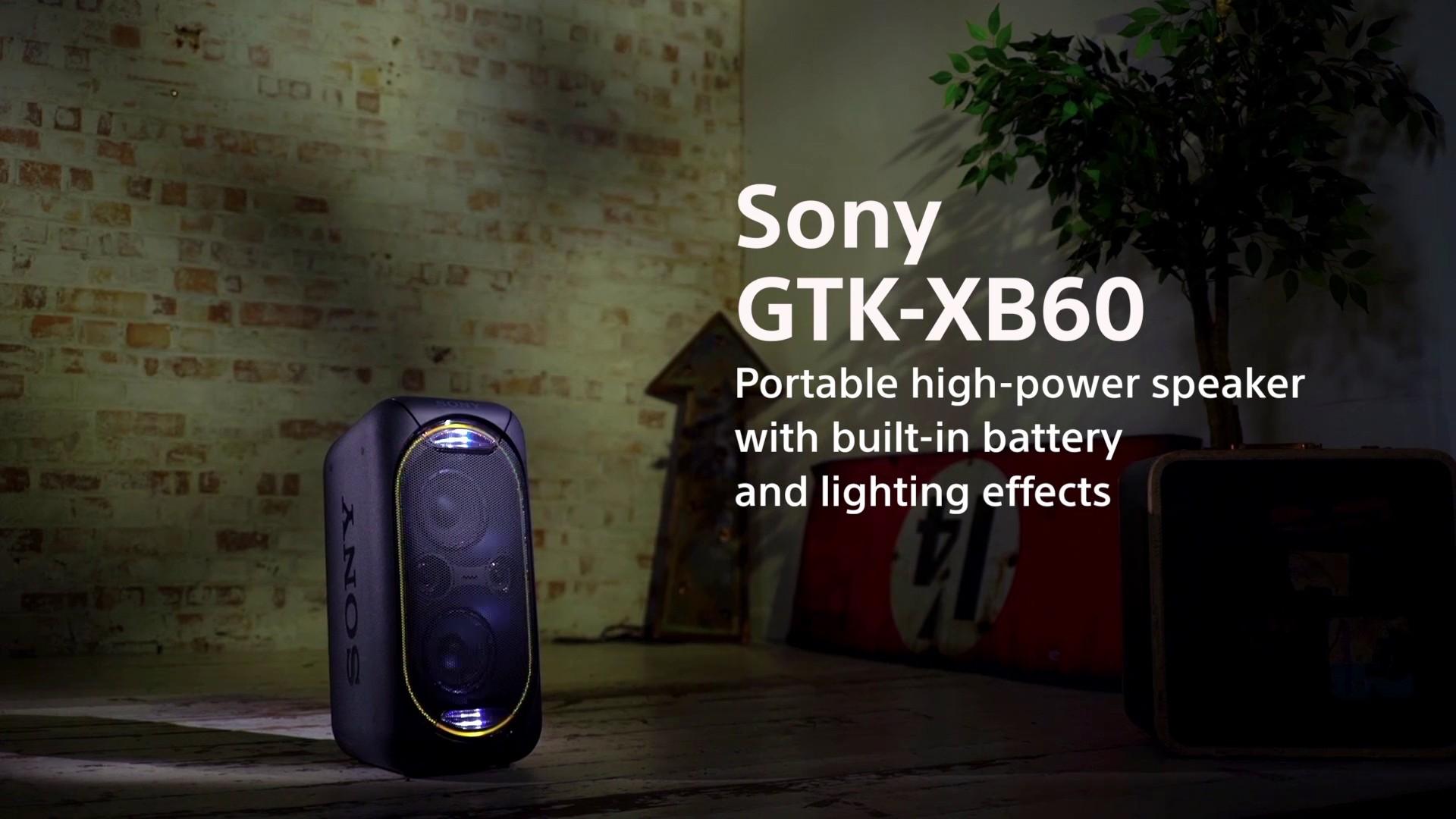 Sony A V Högtalare GTKXB60 (röd) - Bluetooth högtalare - Elgiganten bbad4c9658f79