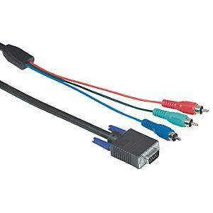 Hama 3 x RCA (kontakt) - HDD 15-pins (kontakt) -2m