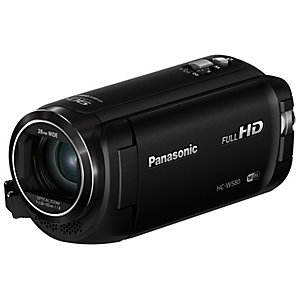 Panasonic HC-W580 twin videokamera (sort)