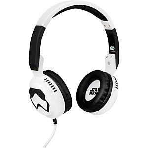 Tribe Pop Stormtrooper on-ear headphones