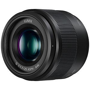 Panasonic Lumix G Vario 25mm ASPH fast objektiv (svart)