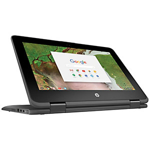 "HP Chromebook x360 11-ae001no 11.6"" 2-i-1 (grå)"