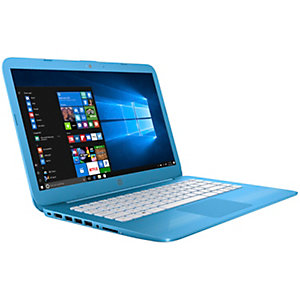"HP Stream 14-ax081 14"" bærbar PC (blå)"