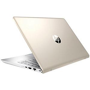 """HP Pavilion 14-bf084no 14"""" bærbar PC (gull)"""